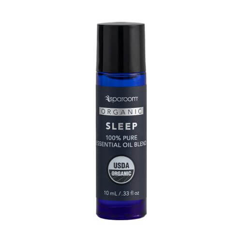 Sleep Organic Essential Oil Blend 10 mL Bottle Closed
