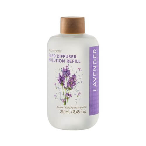Lavender Reed Diffuser Solution Refill opened