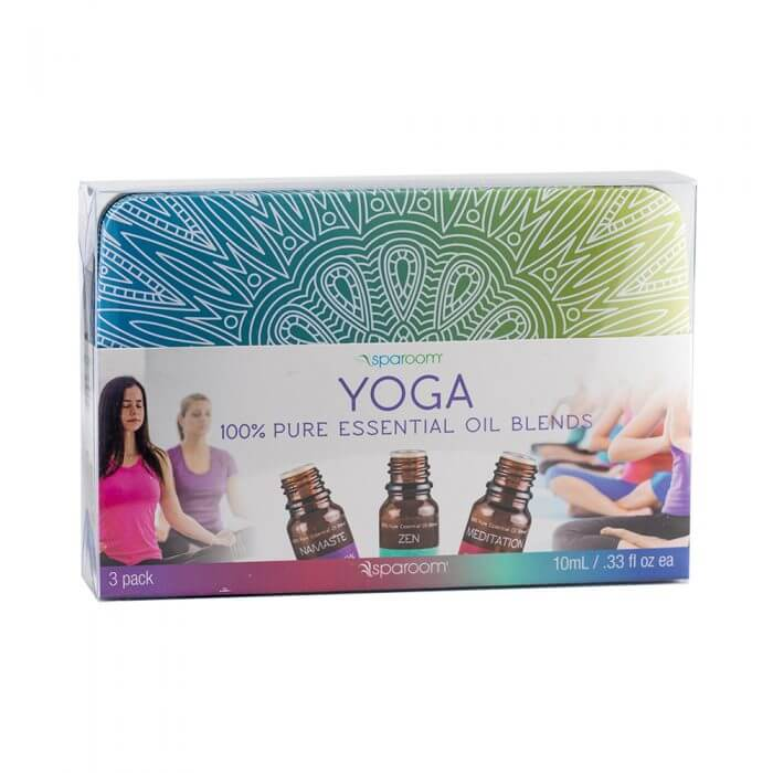 Yoga Essential Oil Tin