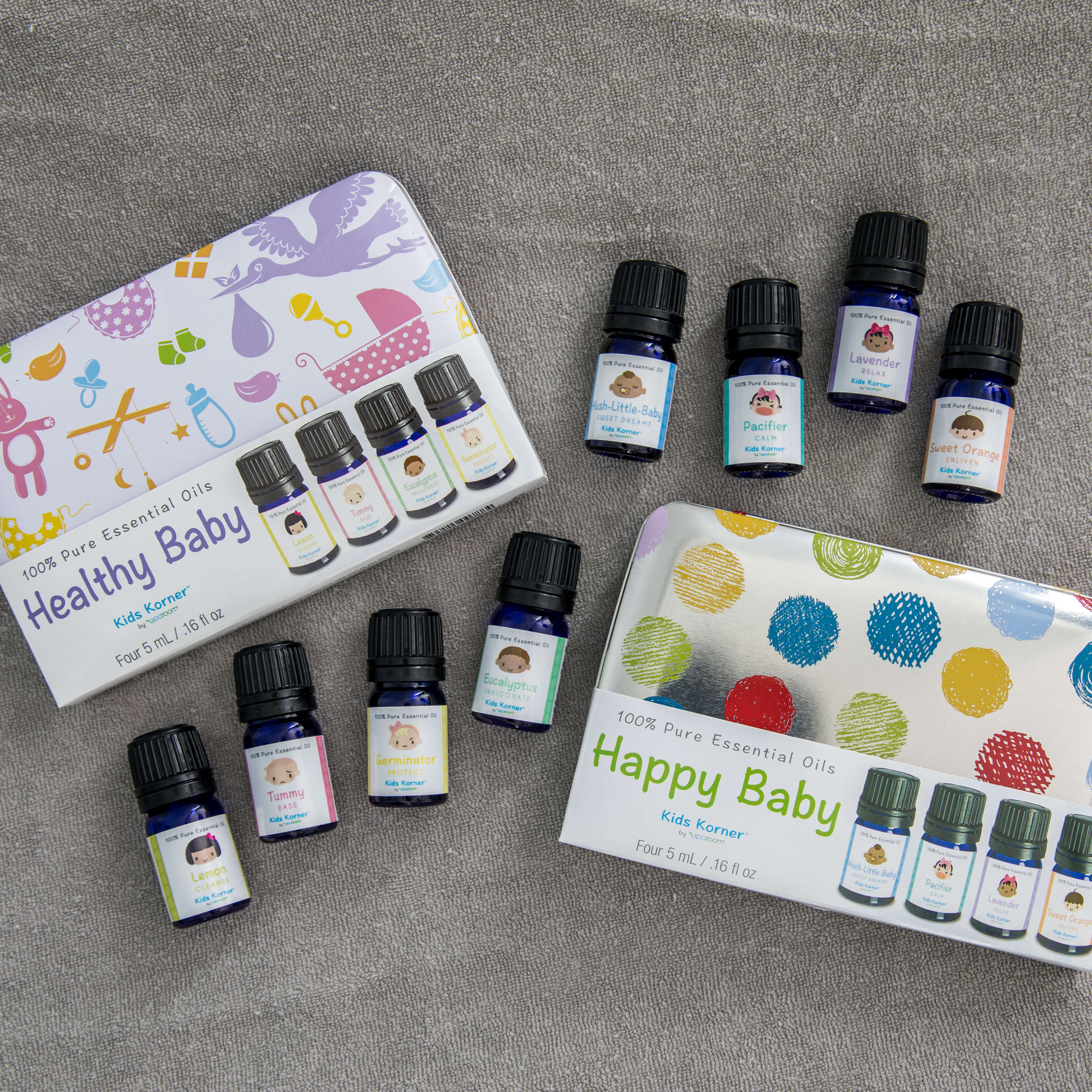 Child Safe Kid Essential Oils for Diffusing