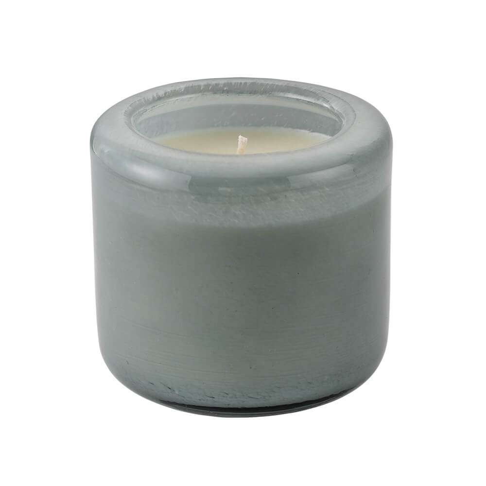 Amberwood Lily All-Natural Soy Wax Scented Candle uncovered