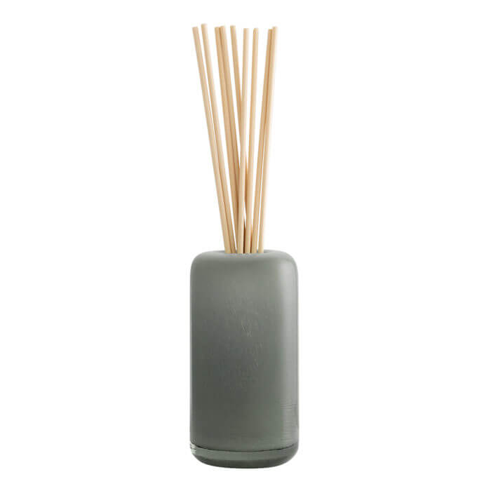 Amberwood Lily Glass Reed Diffuser with fabric reeds