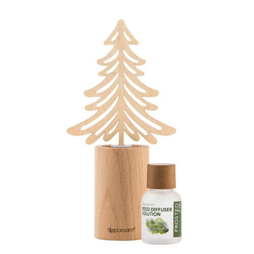 Frosted Fir Mini Forestations Reed Diffuser with oil solution